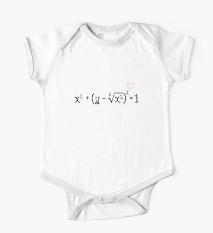Math heart (white) Kids Clothes