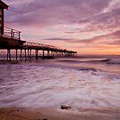 """""""Early Tide, Saltburn-by-the-Sea"""" by Bradley Shawn  Rabon"""