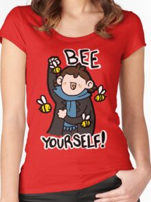 Bee Yourself! Women's Fitted Scoop T-Shirt