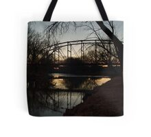 Crossing the Big Sioux River Tote Bag
