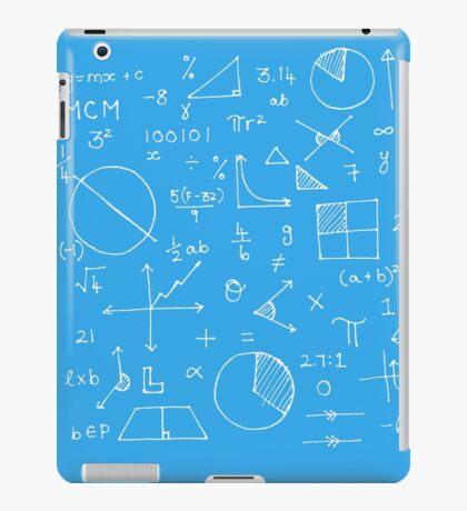 Math formulae (blue) iPad Case/Skin