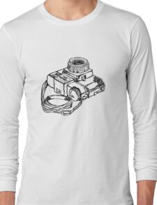 Holga 120 Plastic Toy Medium Format Camera Long Sleeve T-Shirt