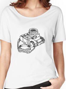 Holga 120 Plastic Toy Medium Format Camera Women's Relaxed Fit T-Shirt