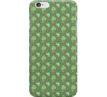 Clovers Kitties Pattern iPhone Case/Skin