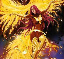Dark Phoenix by mikerenzine