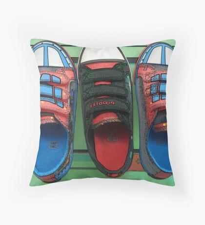 Footwear  Throw Pillow