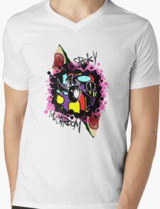 Attempted Branding no.1 Mens V-Neck T-Shirt