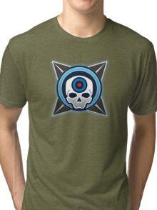 Halo 4 Headshot! Medal Tri-blend T-Shirt