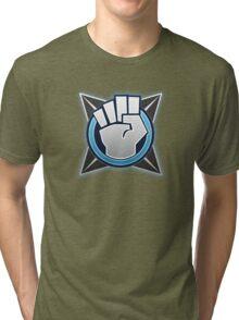 Halo 4 Melee! Medal Tri-blend T-Shirt