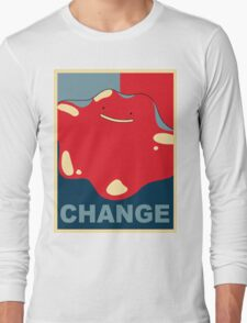 Ditto Pokemon - Change Long Sleeve T-Shirt