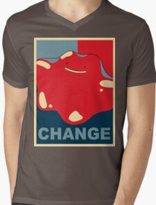 Ditto Pokemon - Change Mens V-Neck T-Shirt
