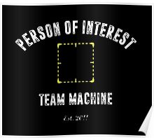 "Person of Interest ""Team Machine"" Poster"
