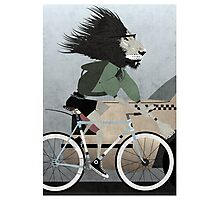Alleycat Race Photographic Print