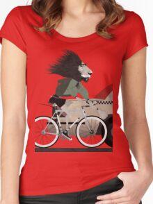Alleycat Race Women's Fitted Scoop T-Shirt