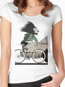Alleycat Race Women's Fitted Scoop T-Shirt