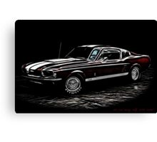 1967 Ford Mustang Shelby 350 Fastback Canvas Print
