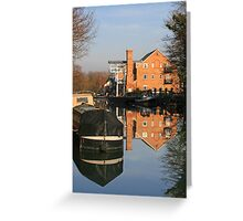 Whittet's Ait Greeting Card