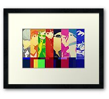 Persona 4 Investigation Team Framed Print