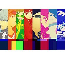 Persona 4 Investigation Team Photographic Print
