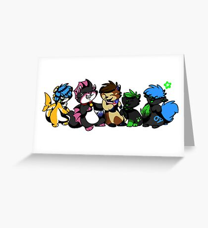 Friend time Greeting Card