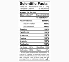 Scientific Facts are Nutritious by Tai's Tees by TAIs TEEs