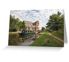 Coxes Mill and Lock Greeting Card
