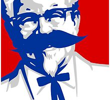 KFC Mustached by emodist