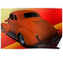 1938 Chevy Coupe w/Louvers Poster