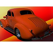 1938 Chevy Coupe w/Louvers Photographic Print