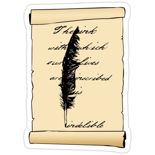 The Ink Is Indelible by phoenix-cry