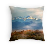 Mount Wheeler Peak Throw Pillow