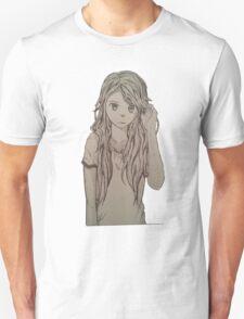 Cute anime girl Unisex T-Shirt