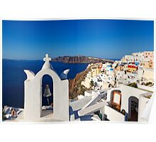 Santorini, Greece Poster