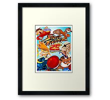 Street Fighter 25 Anniversary 1 Framed Print
