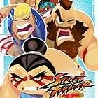 Street Fighter 25 Anniversary 3 by vancamelot