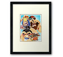 Street Fighter 25 Anniversary 3 Framed Print