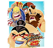 Street Fighter 25 Anniversary 3 Photographic Print