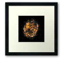 The creation of the earth and the stars Framed Print
