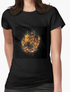 The creation of the earth and the stars Womens Fitted T-Shirt