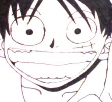 I Love Luffy  Sticker