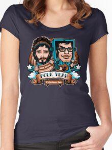 Folk Yeah! Women's Fitted Scoop T-Shirt