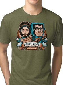 Folk Yeah! Tri-blend T-Shirt