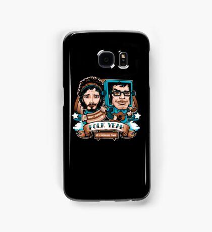 Folk Yeah! Samsung Galaxy Case/Skin