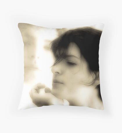 Sarah, Sarah Throw Pillow