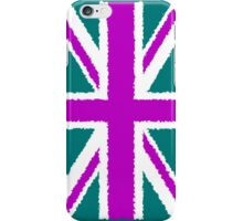 Smartphone Case - Flag of the United Kingdom - Color Paint iPhone Case/Skin