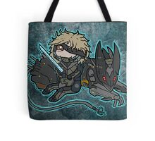Raiden and Wolf Tote Bag