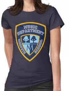 Morpeth School Music Department T Shirt Logo Womens Fitted T-Shirt
