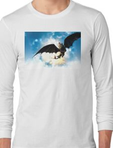 Toothless and Hiccup Long Sleeve T-Shirt