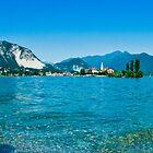 lago maggiore hdr, isola superiore o dei pescatori by dirk hinz