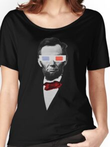 Honest Abe Lincoln Women's Relaxed Fit T-Shirt